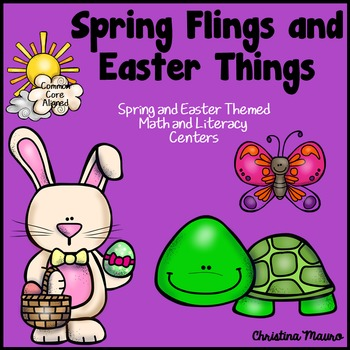 Spring Centers for Kindergarten and First Grade