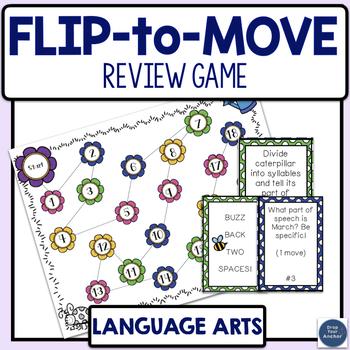 Spring Language Arts Review Game - Test Prep