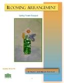 Spring Floral Arrangement Visual Art lesson for grades 4 to 7