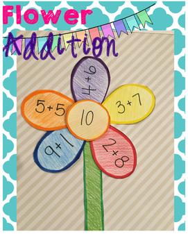 Spring Flower Addition Craft