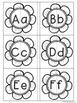 Spring Flower Alphabet Matching - Upper case and Lower case Match Activity