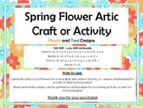Spring Flower Artic or Craft or Activity FULL UNIT