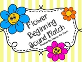 Spring Flower Beginning Sound Match