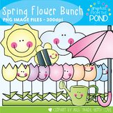 Spring Flower Bunch - Clipart for Math and Teaching