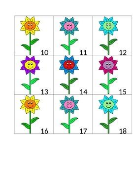 Spring Flower Calendar Cards