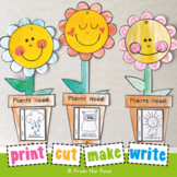 Flower Craft with What Plants Need Mini Book