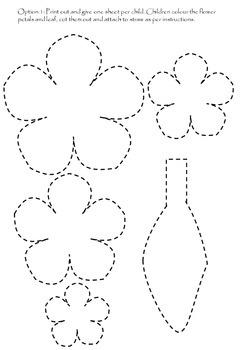 Spring Flower Craft Free Resource