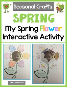 Spring Flower Craft - What I Love About Spring - Seasonal Crafts