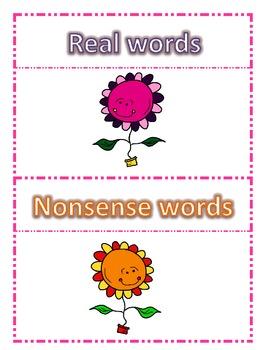 Spring Flower Fun-CVC and Math Activities