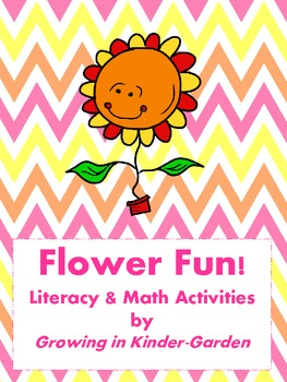 Spring Flower Fun-CVC and Math Activities