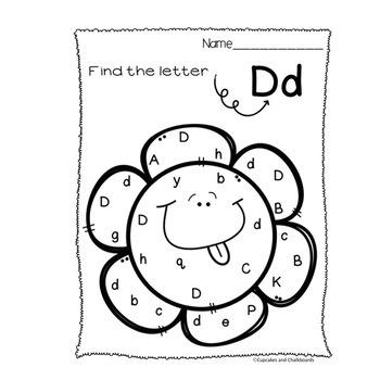 Flower Letter Find/Recognition