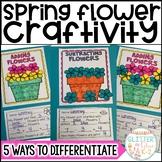 Spring Flower Math Craft-Differentiated