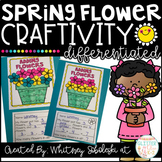 Spring Flower Math Craft-Differentiated