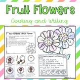 Spring Flower Math Craft & Fruit Flower Snack {basic opera