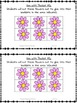 Spring Flower Positional Words Booklet