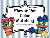 Spring Flower Pot Color Matching