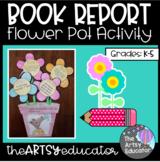 Spring Flower Pot Craftivity Book Report!