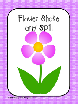 Spring Flower Shake and Spill