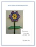 Spring Flower: Springtime Art Activity