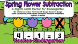 Spring Flower Subtraction-A Digital Math Center (Compatibl