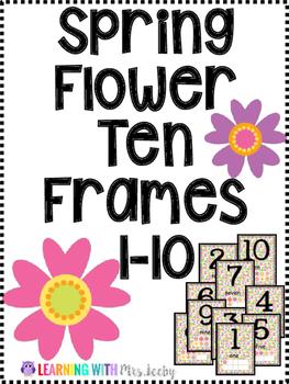 Spring Flower Ten Frames