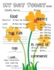 Spring (Flower) Themed Childcare Daily Reports  (Daycare)