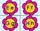 Spring Flowers ABC Letter Match game