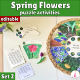 Spring Flowers Activity Puzzle Set 2