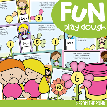 Spring Flowers Addition - Play Doh Mats