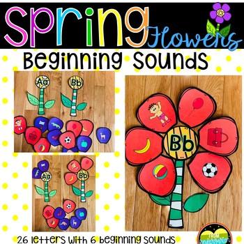 Spring Flowers Beginning Sounds