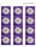 Spring Flowers - Bulletin Board Border