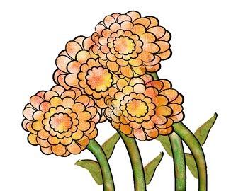 Spring Flowers Clip Art