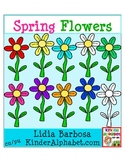 Spring Flowers {Clip Art for Teachers}