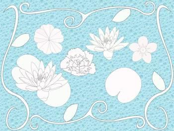 Spring Flowers: Clip-art