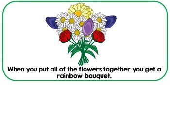 Spring Flowers & Color Words Adapted Interactive Book {Autism, SLP}