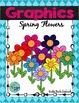 Spring Flowers Digital Clip Art
