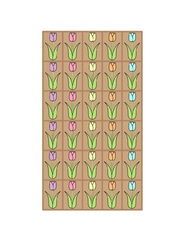 Spring Flowers Game - Practice with Letter Names, Letter Sounds, and Blends
