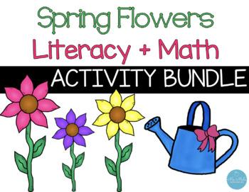 Spring Flowers Literacy & Math Activity Bundle!