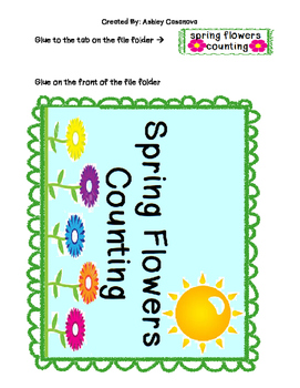 Spring Flowers Math Bundle