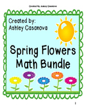 Spring Flowers Math Bundle