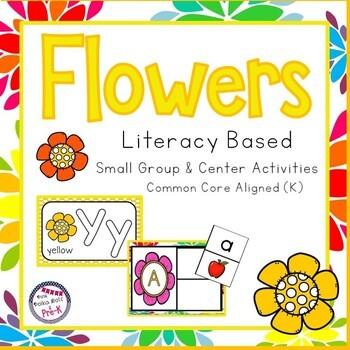 Spring Flowers Mega Literacy Pack ~ Letter Recognition, Beginning Sounds