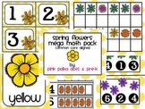 Spring Flowers Mega Math Pack ~ Counting, Patterning, Numb