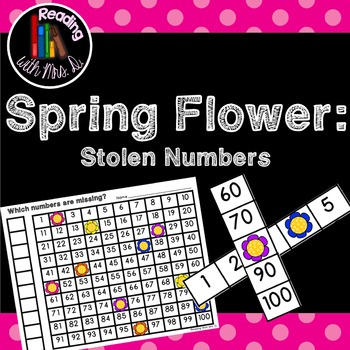 Spring Flowers Missing Stolen Numbers