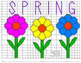 Spring Flowers Mystery Picture : Distance Learning