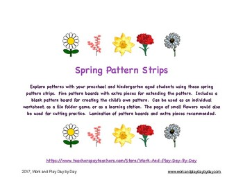 Spring Flowers Patterning