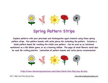 Spring Flowers Patterning