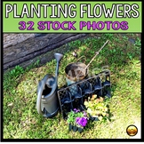 Sequencing Pictures How to Plant Flowers