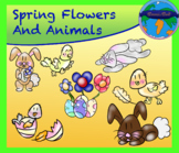 Spring Flowers and Animals