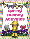 Spring Fluency Activities
