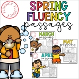 Spring Fluency Bundle (Differentiated)